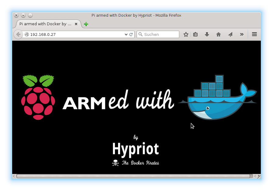 Getting started with Docker on your Raspberry Pi