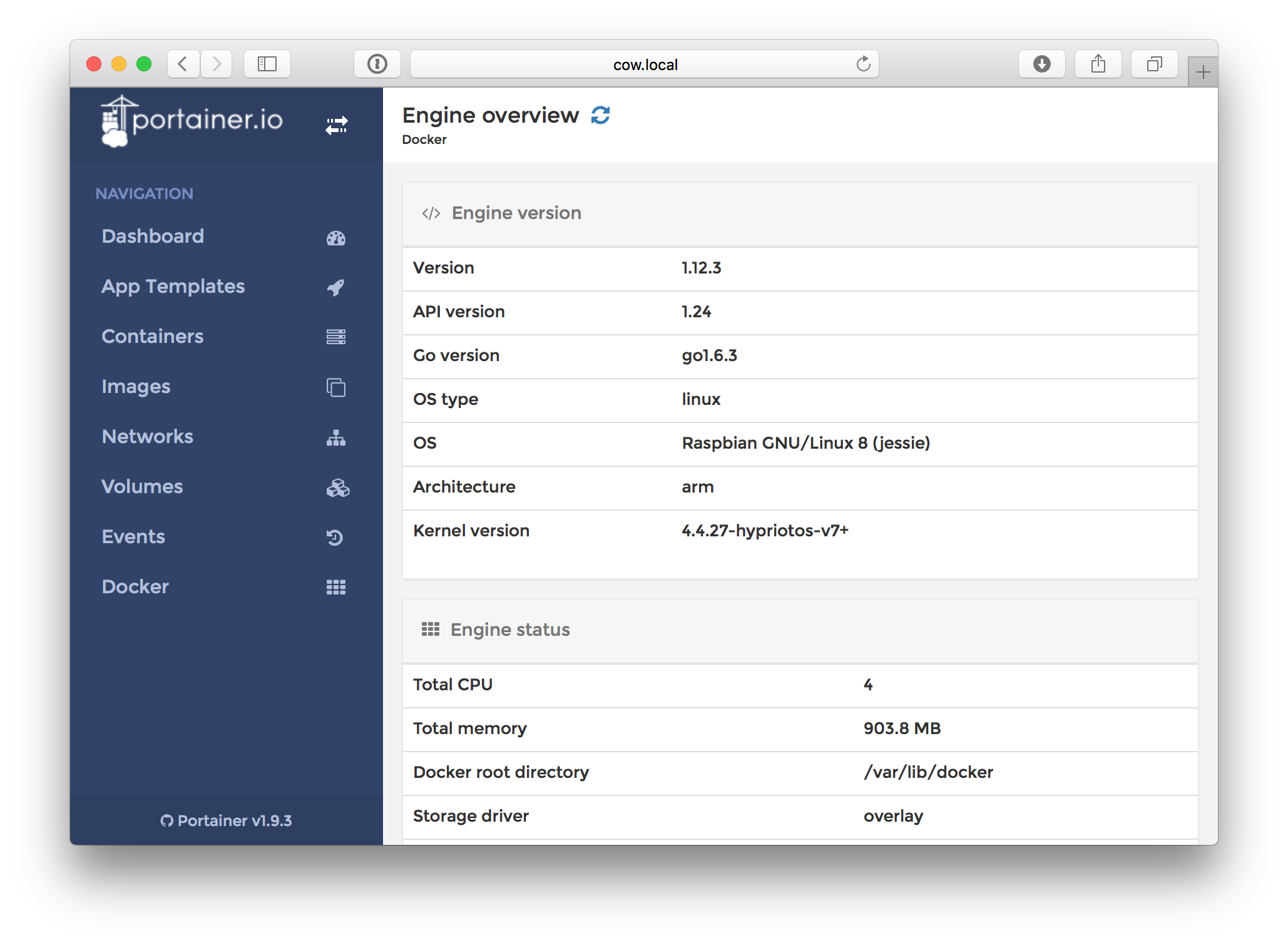 Portainer - Docker Dashboard