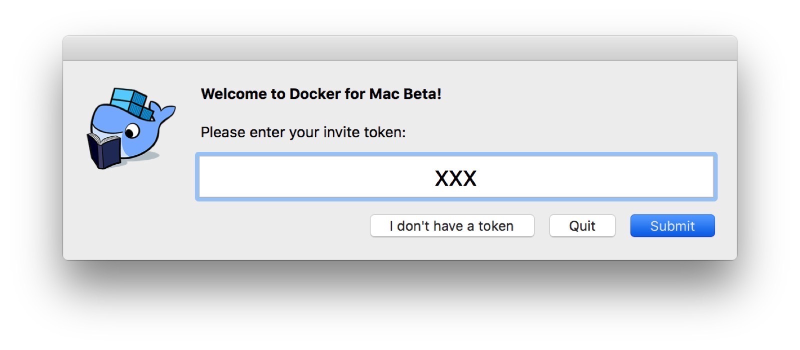 First Touch Down with Docker for Mac · Docker Pirates ARMed with