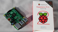 Pi 2 front and its package