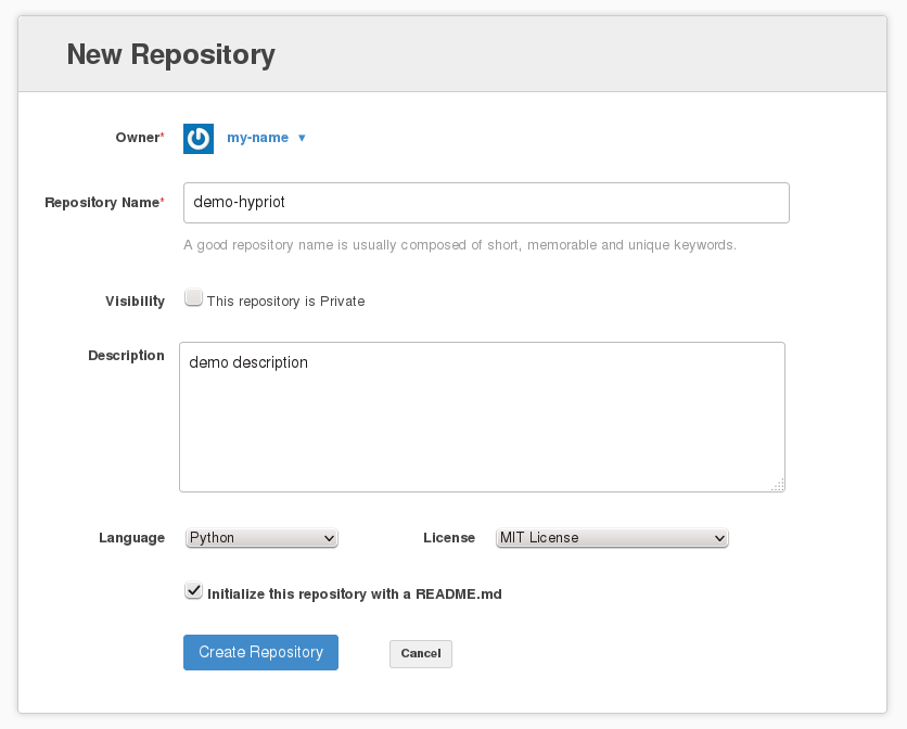 Run your own GitHub-like service with the help of Docker