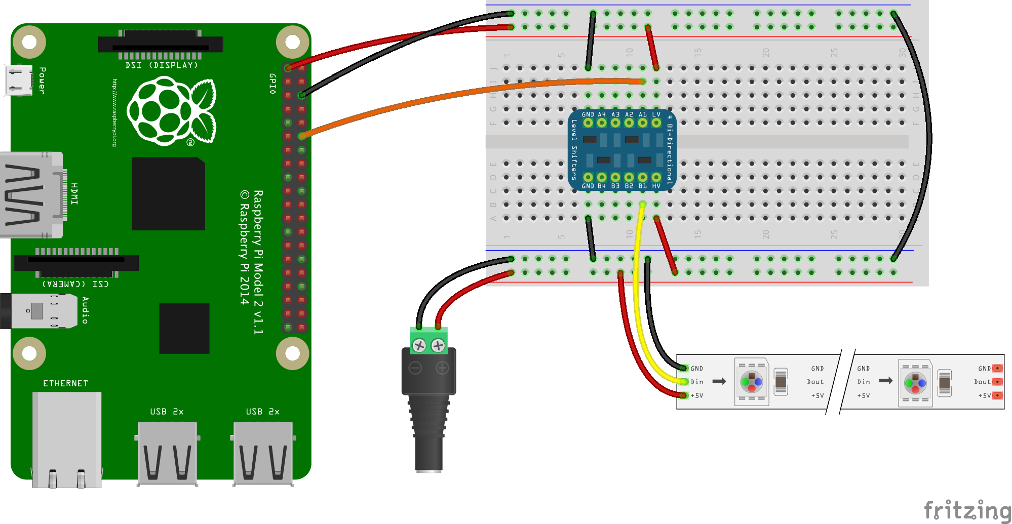 Drive Neopixels In Docker On Raspberry Pi Pirates Armed Wiringpi Pwm Functions Wiring Diagram