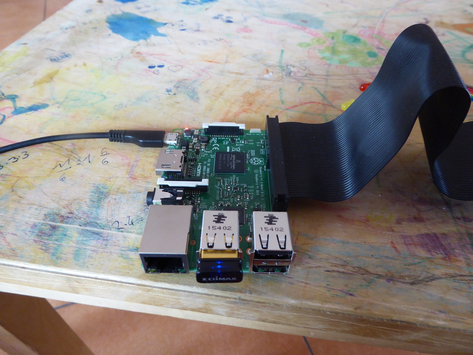 How To Build A Traffic Light Docker Pirates Armed With Explosive Stuff Simple Circuit Hypriot Raspberry Pi 3 Running App Edimax As Workaround Soon Onboard Wifi Support